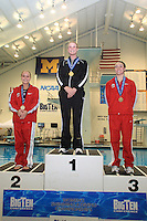 21 February 2009: Casey Mathews (Purdue) competes on the Platform in the 2009 Women's Big Ten Diving Championships held at the University of Michigan.