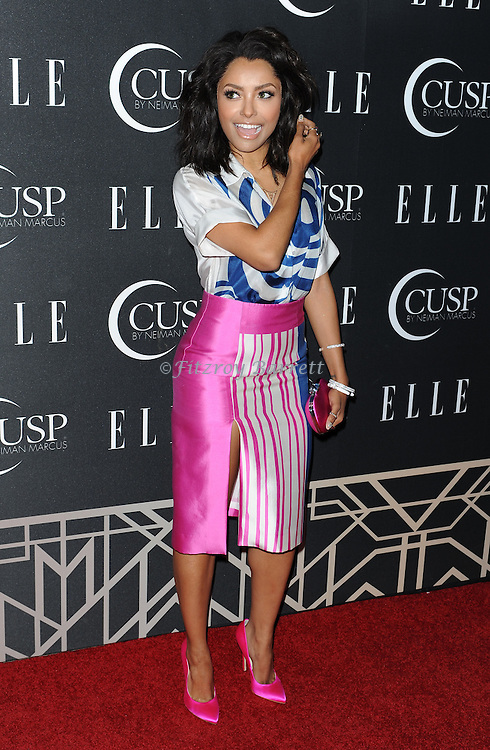 Kat Graham arriving at 'ELLE 5th Annual Women In Music Concert Celebration' held at the Avalon Los Angeles, CA. April 22, 2014.