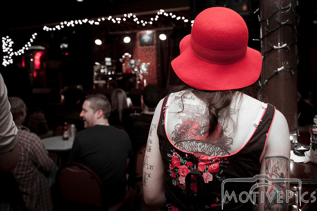 The Wandering Madman @ Blueberry Hill December 2011.