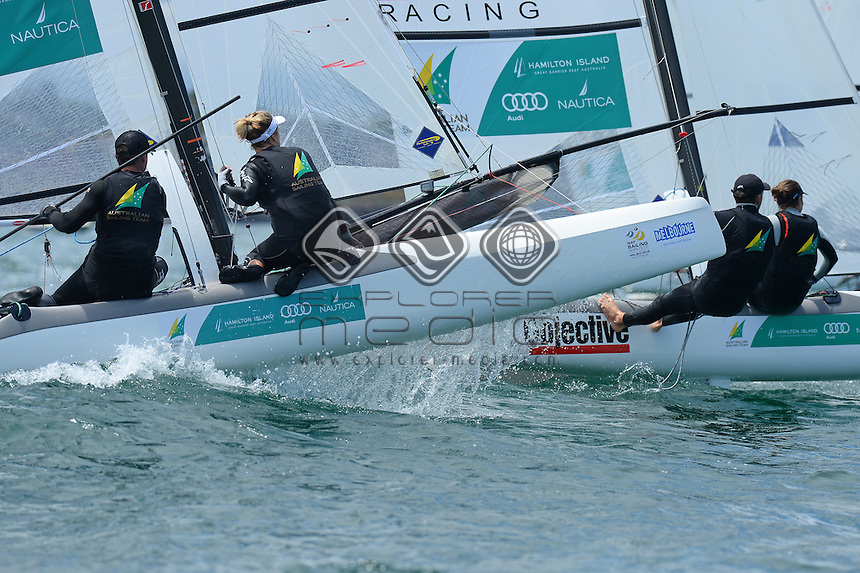 Darren Bundock & Nina Curtis (AUS)<br />
