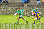Spa's v Milltown/Castlemaine's. in their.Intermediate Championship.quarter-final.