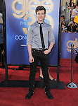 Chris Colfer attends The 20th Century Fox - GLEE 3D Concert World Movie Premiere held at The Regency Village theatre in Westwood, California on August 06,2011                                                                               © 2011 DVS / Hollywood Press Agency