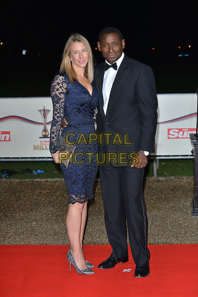 LONDON, ENGLAND - DECEMBER 10: David Harewood and wife Kirsty Hands attends A Night Of Heroes: The Sun Military Awards at National Maritime Museum on December 10, 2014 in London, England.<br /> CAP/PL<br /> &copy;Phil Loftus/Capital Pictures