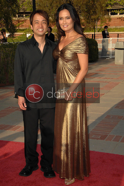 Tia Carrere and guest<br />