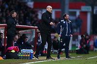 Reading manager Jaap Stam during Stevenage vs Reading, Emirates FA Cup Football at the Lamex Stadium on 6th January 2018