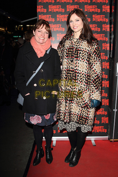 LONDON, ENGLAND - FEBRUARY 27:  Janet Ellis and Sophie Ellis Bextor attends the 'Ghost Stories' Press Night at the Arts Theatre on February 27, 2014 in London, England.<br /> CAP/ROS<br /> &copy;Steve Ross/Capital Pictures