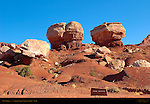 Twin Rocks, Capitol Reef National Park, Utah