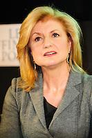Arianna Huffington fondatrice dell'Huffington Post giornale web.Parigi 23/1/2012 .Presentazione della versione francese del sito Huffington Post.Foto Insidefoto / Anthony Ghnassia / Panoramic