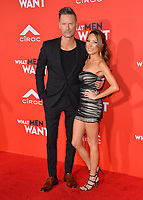 LOS ANGELES, CA. January 28, 2019: Brian Tyler &amp; Sofie McCue at the US premiere of &quot;What Men Want!&quot; at the Regency Village Theatre, Westwood.<br /> Picture: Paul Smith/Featureflash