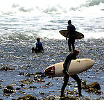 Surfing Topanga