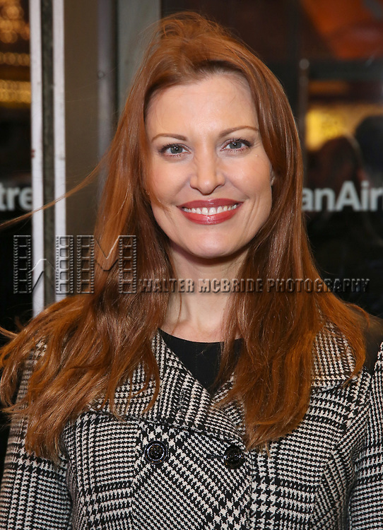 """Rachel York attends the Broadway Opening Night Performance of """"John Lithgow: Stories by Heart"""" at the American Airlines Theatre on January 11, 2018 in New York City."""