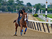 June 6-7: Justify arrives for Belmont; contenders gallop over track