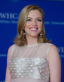 Kayla Tausche arrives for the 2018 White House Correspondents Association Annual Dinner at the Washington Hilton Hotel on Saturday, April 28, 2018.<br /> Credit: Ron Sachs / CNP<br /> <br /> (RESTRICTION: NO New York or New Jersey Newspapers or newspapers within a 75 mile radius of New York City)