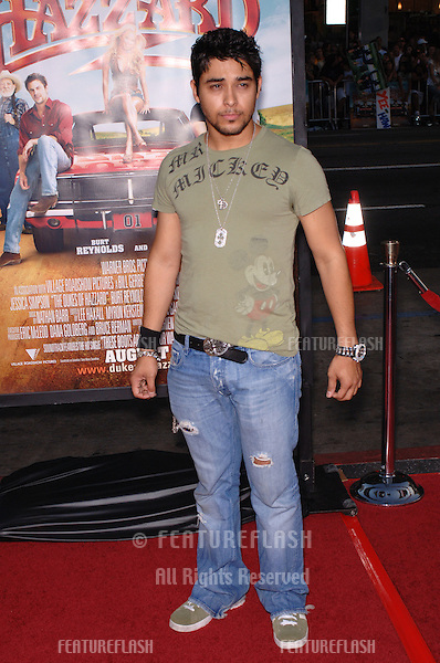 Actor WILMER VALDERRAMA at the Los Angeles premiere of The Dukes of Hazzard..July 28, 2005 Los Angeles, CA.© 2005 Paul Smith / Featureflash