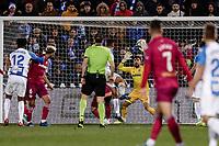 29th February 2020; Estadio Municipal de Butarque, Madrid, Spain; La Liga Football, Club Deportivo Leganes versus Deportivo Alaves; Guido Carrilo (CD Leganes)  scores to make it 1-1 in the 59th minute