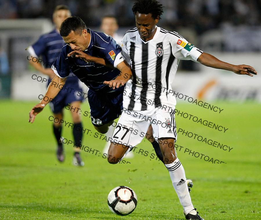 Fudbal, Jelen super liga, sezona 2010/2011.Partizan Vs. Hajduk (Kula).Super liga.Beograd, 04.09.2010..foto: Srdjan Stevanovic/Starsportphoto ©