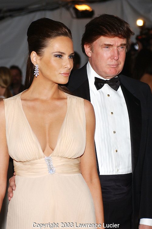 Melania Knauss and Donald Trump