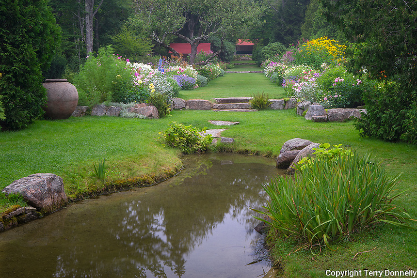 Northeast Harbor, Maine:<br /> Thuya Garden