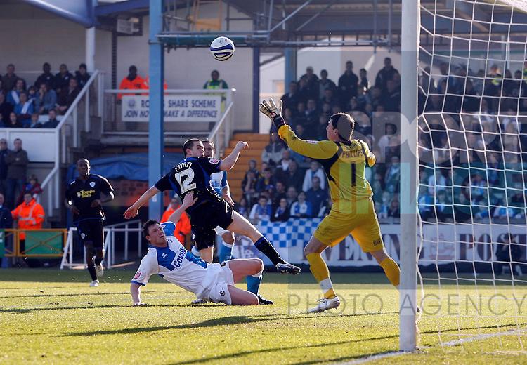 GOAL..Leicesters Matty Fryatt makes it 1-0