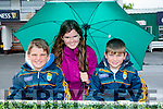 Maurice Harty, Aishling Harty and Gearoid Harty from Ballyheigue at the Listowel Harvest Racing Festival on Sunday