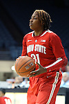 28 November 2012: Ohio State's Raven Ferguson. The University of North Carolina Tar Heels played the Ohio State University Buckeyes at Carmichael Arena in Chapel Hill, North Carolina in an NCAA Division I Women's Basketball game. UNC won the game 57-54.