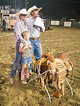 Day 3 of the 78th Amador County Fair, Plymouth, Calif.<br /> <br /> Livestock beauty pageant, local cattleman's competition, rodeo, mutton busting' finals