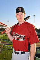 Feb 25, 2010; Kissimmee, FL, USA; The Houston Astros catcher Lou Santangelo (72) during photoday at Osceola County Stadium. Mandatory Credit: Tomasso De Rosa / Four Seam Images