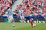 Atletico de Madrid's Stefan Savic and CD Leganes's Youssef En-Nesyri during La Liga match between Atletico de Madrid and CD Leganes at Wanda Metropolitano stadium in Madrid, Spain. March 09, 2019. (ALTERPHOTOS/A. Perez Meca)