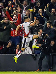 Jose Angel Pozo de la Rosa of Rayo Vallecano celebrates during the La Liga 2018-19 match between Rayo Vallecano and FC Barcelona at Estadio de Vallecas, on November 03 2018 in Madrid, Spain. Photo by Diego Gouto / Power Sport Images