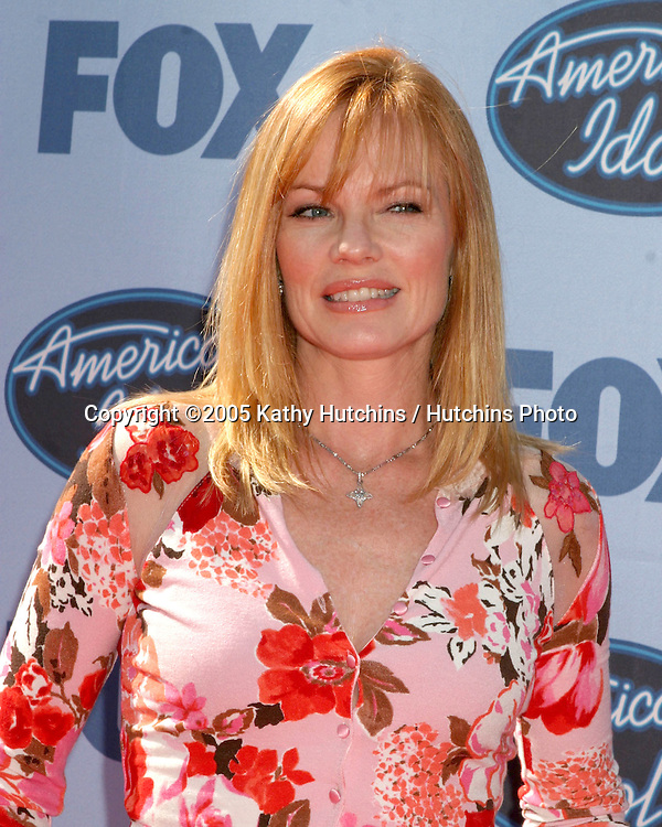 Marg Helgenberger.American Idol 4 FInals.Kodak Theater.Hollywood & Highland.Los Angeles, CA .May 25, 2005.©2005 Kathy Hutchins / Hutchins Photo...