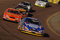 Nov 12, 2005; Phoenix, Ariz, USA;  Nascar driver Carl Edwards leads the field during the Busch Series Arizona 200 at Phoenix International Raceway. Mandatory Credit: Photo By Mark J. Rebilas