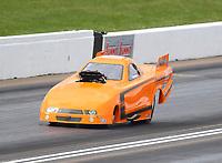 May 20, 2017; Topeka, KS, USA; NHRA top alcohol funny car driver William Bernard II during qualifying for the Heartland Nationals at Heartland Park Topeka. Mandatory Credit: Mark J. Rebilas-USA TODAY Sports