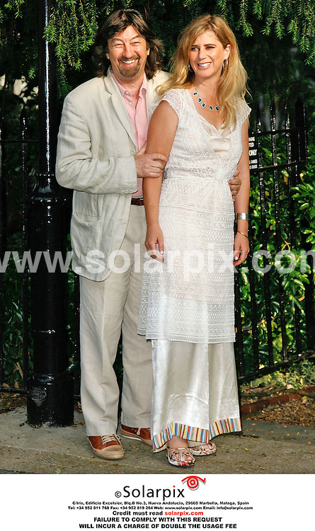 ALL ROUND PICTURES FROM SOLARPIX.COM. .Trevor Nunn and Imogen Stubbs arrive for the David Frost Summer party in Carlyle Square, London on 05.07.06. Job Ref: 2548/SFE..MUST CREDIT SOLARPIX.COM OR DOUBLE FEE WILL BE CHARGED..