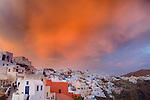 Sunset, Oia, Santorini, Greece