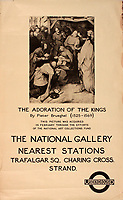 BNPS.co.uk (01202 558833)<br /> Pic: Onslows/BNPS<br /> <br /> Even Art & Poetry was deployed to encourage travel around the capital.<br /> <br /> A fascinating treasure trove of old London posters are expected to sell at auction for £20,000 after being discovered in a garage.<br /> <br /> They were produced circa 1920 by the Underground Electric Railway Company to promote the capital's underground, tram and bus networks.<br /> <br /> There is also a charming selection of 'London Characters' posters showing different walks of life including a news boy, a zookeeper, a flower woman and a Covent Garden porter.<br /> <br /> The collection of 35 posters were found rolled up in a garage lock up in Kensington, west London, while it was being cleared out.<br /> <br /> The vendor, a lady in her 80s, inherited them many years ago from her late aunt who was an artist in the 1920s and had her own studio.