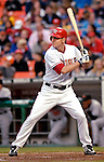 18 May 2007: Washington Nationals outfielder Ryan Langerhans in action against the Baltimore Orioles at RFK Stadium in Washington, DC. The Orioles defeated the Nationals 5-4 in the first game of the 3-game interleague series...Mandatory Photo Credit: Ed Wolfstein Photo