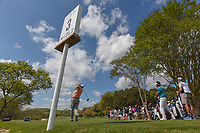 Marc Leishman (AUS) watches his tee shot on 3 during day 2 of the World Golf Championships, Dell Match Play, Austin Country Club, Austin, Texas. 3/22/2018.<br /> Picture: Golffile | Ken Murray<br /> <br /> <br /> All photo usage must carry mandatory copyright credit (&copy; Golffile | Ken Murray)