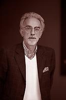 Mario Baudino è un giornalista, saggista e poeta italiano. Scrive per il quotidiano di Torino La Stampa, dove ogni venerdì esce una sua rubrica intitolata Cartesio. Pordenone 14 settembre 2017. © Leonardo Cendamo