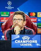 4th December 2017, Rome, Italy; AS Roma press conference ahead of the Champions league match versus FK Qarabag; Eusebio Di Francesco