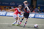 U-12 Plate Finals match, part of the HKFC Citi Soccer Sevens 2017 on 27 May 2017 at the Hong Kong Football Club, Hong Kong, China. Photo by Chris Wong / Power Sport Images