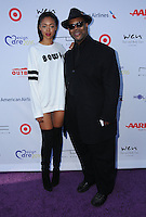 16 July 2016 - Pacific Palisades, California. Bella Harris, Jimmy Jam. Arrivals for HollyRod Foundation's 18th Annual DesignCare Gala held at Private Residence in Pacific Palisades. Photo Credit: Birdie Thompson/AdMedia