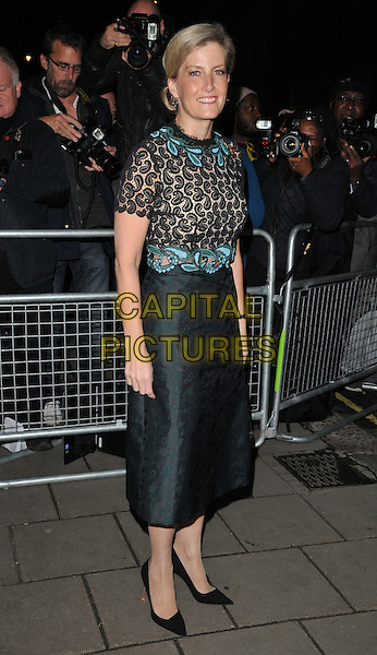 Sophie, Countess of Wessex attends the Harper's Bazaar Women of the Year Awards 2015, Claridge's Hotel, Brook Street, London, England, UK, on Tuesday 03 November 2015. <br /> CAP/CAN<br /> &copy;Can Nguyen/Capital Pictures