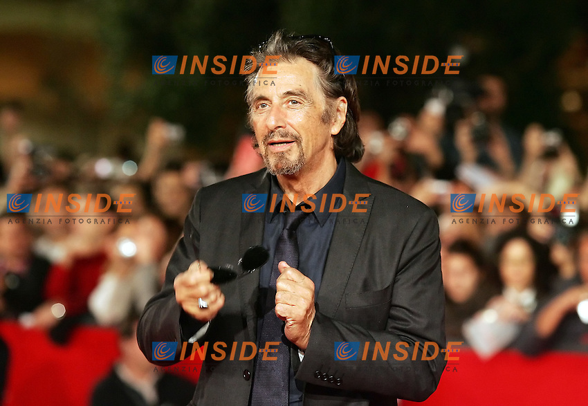 Al Pacino during the red carpet at the opening day of the third edition of Festa Internazionaledel Cinema di Roma, Auditorium Parco della Musica, October 22, 2008. <br /> Al Pacino alla serata inaugurale della terza edizione della Festa Internazionale del Cinema di Roma.<br /> Roma 22/10/2008 Auditorium Parco della Musica. <br /> Photo Antonietta Baldassarre Inside