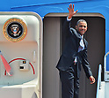 U.S. President Barack Obama Leaves Japan