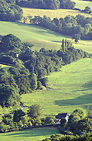 The Devon country side