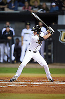 UCF Knights Luke Hamblin (6) at bat during a game against the Siena Saints on February 17, 2017 at UCF Baseball Complex in Orlando, Florida.  UCF defeated Siena 17-6.  (Mike Janes/Four Seam Images)