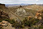 Rock formation in dry puna, Abra Granada, Andes, northwestern Argentina