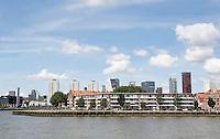 Nederland Rotterdam 2016 . De Prins Hendrikkade op het Noordereiland in de Maas.  Foto Berlinda van Dam / Hollandse Hoogte