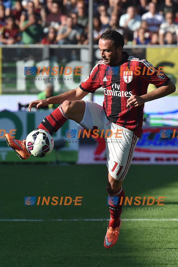 Giampaolo Pazzini Milan <br /> Cesena 28-09-2014 Stadio Dino Manuzzi, Football Calcio Serie A Cesena - Milan. Foto Andrea Staccioli / Insidefoto
