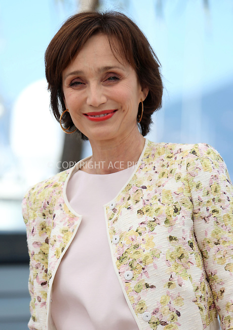 WWW.ACEPIXS.COM....US Sales Only....May 22 2013, Cannes....Kristin Scott Thomas at the photocall for 'Only God Forgives' at the Cannes Film Festival on May 22 2013 in France ....By Line: Famous/ACE Pictures......ACE Pictures, Inc...tel: 646 769 0430..Email: info@acepixs.com..www.acepixs.com